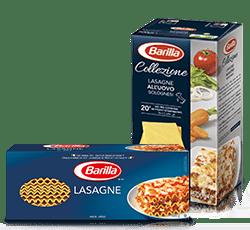 lasagne shapes