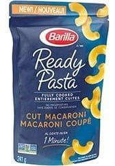 Ready Pasta Cut Macaroni package