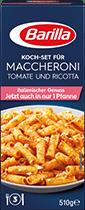 Koch-Set für Maccheroni Tomate und Ricotta