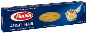 Classic Blue Box Angel Hair Pasta
