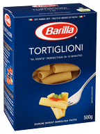 Classic Blue Box Tortiglioni Pasta