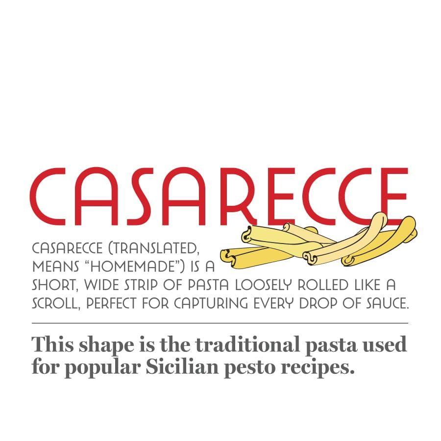 Casarecce Pasta History