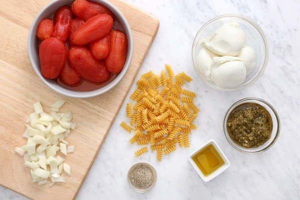 Cheesy Rotini Tomato Passata recipe