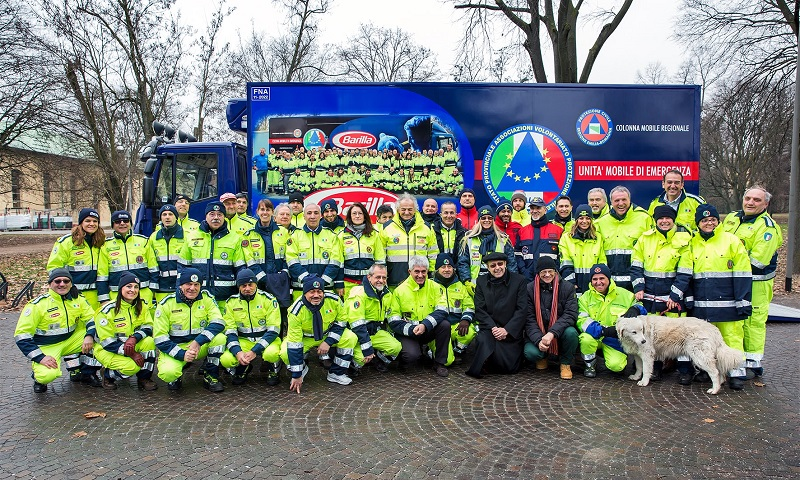 Volunteer Group, The Barilla Angels, Help Provide Natural Disaster Relief to  Survivors