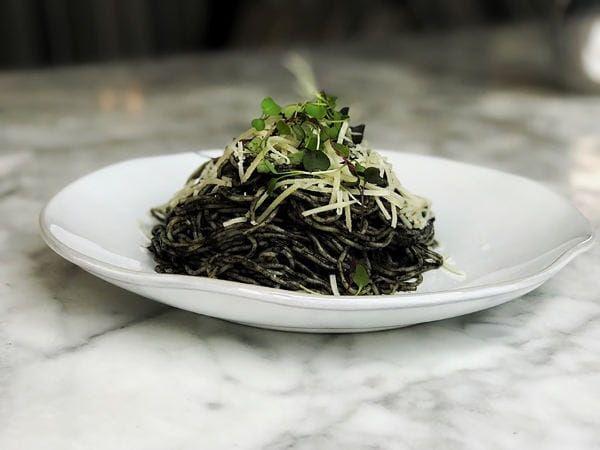 Hocus Pocus Huitlacoche Spaghetti Recipe