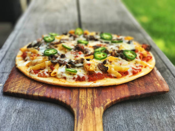 Mexican Pasta Pizza