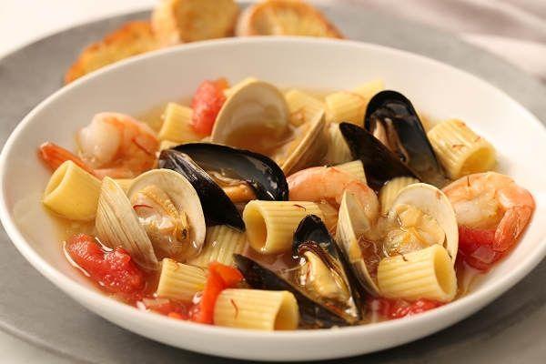 Mezzi Rigatoni Mediterranean Bouillabaisse Recipe