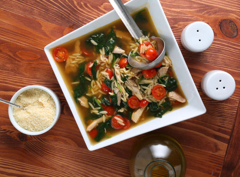 Pasta Soup Recipes: Orzo Chicken Noodle & More