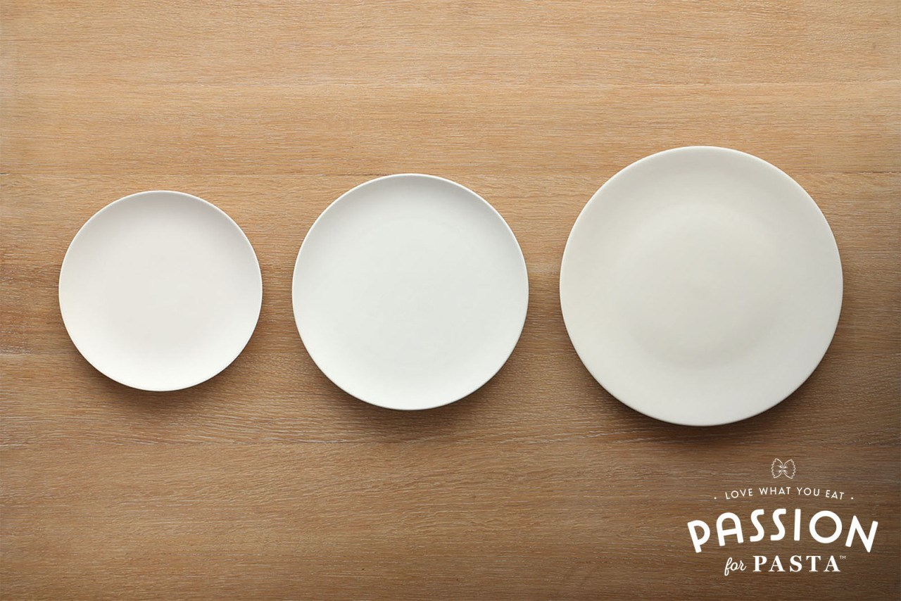 Pasta Plate Size Portions