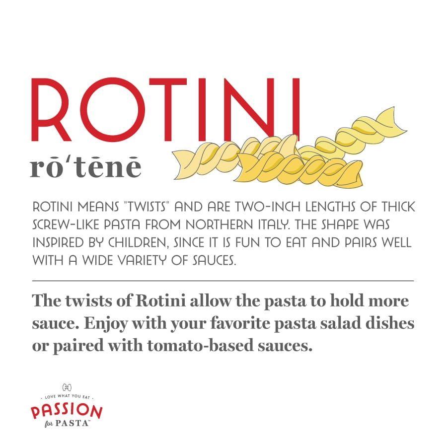 Rotini Pasta Graphic