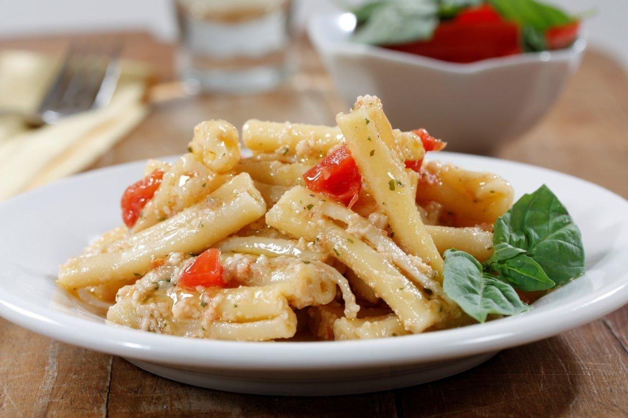 """Casarecce Siciliane with Pesto """"alla Trapanese"""""""