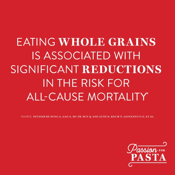 Another Reason to Eat Pasta