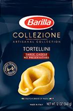 Barilla Collezione Three Cheese Tortellini Pasta