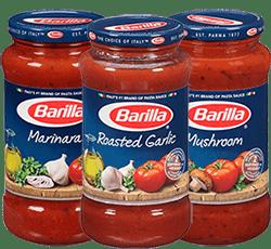 Barilla tomato sauces
