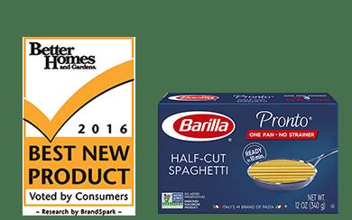 Pronto Half Cut Spaghetti package