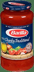 Barilla Chunky Traditional sauce