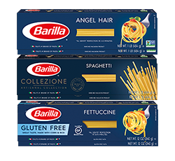 Long cut pasta packages