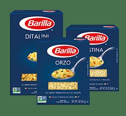 Soup pasta packs