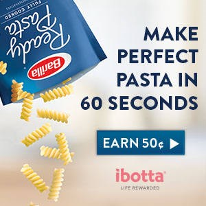 Ibotta pasta in 60 seconds