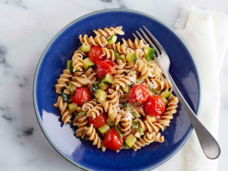 Barilla 174 Whole Grain Rotini With Zucchini Amp Parmigiano Cheese