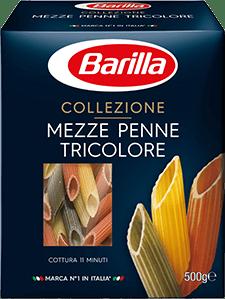 Klassinen Sininen Pakkaus - Mezze Penne Tricolore - Barilla