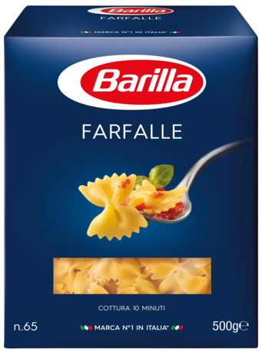 Klassinen Sininen Pakkaus - Farfalle - Barilla