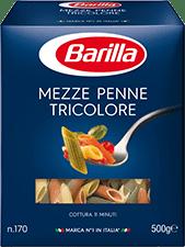 Classiques - Mezze Penne Tricolore - Barilla