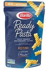 Ready Pasta Rotini package