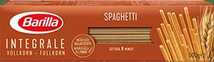 Integrale Spaghetti Verpackung Barilla