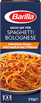 Koch Set fur Spaghetti Bolognese