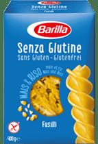 Senza Glutine Fusilli Verpackung Barilla
