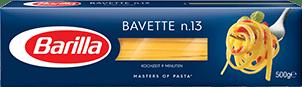 Klassische Sorten Bavette Verpackung Barilla