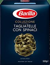 Tagliatelle con spinaci