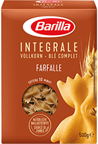 Integrale Farfalle Verpackung Barilla
