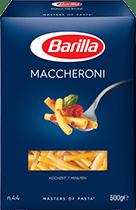 Klassische Sorten Maccheroni Verpackung Barilla
