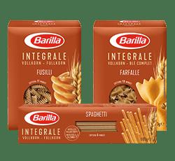 Integrale Range Verpackung Barilla