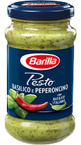 Pesto Basilico e Peperoncino Glas Barilla