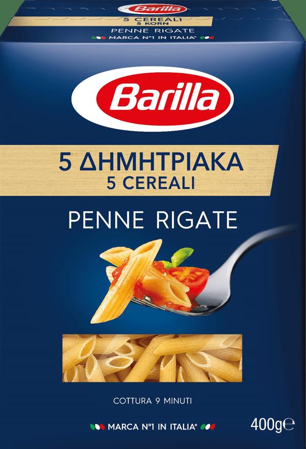 5 Δημητριακά Penne Rigate συσκευασία