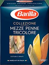 Collezione - Mezze Penne Tricolore - Barilla