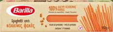 Spaghetti apo kokkines fakes