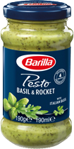 Basil and Rocket Pesto Sauce