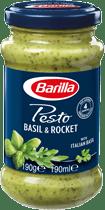 Basil and Rocket Pesto Sauce