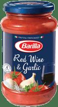 Red Wine and Garlic Tomato Sauce