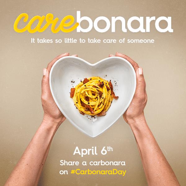 carbonara day 6th april 2021