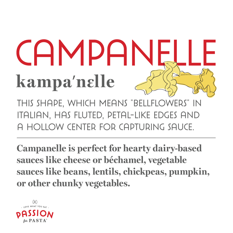 Campanelle Graphic
