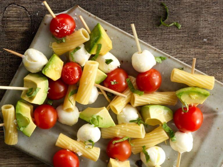 Caprese Pasta Salad Skewer