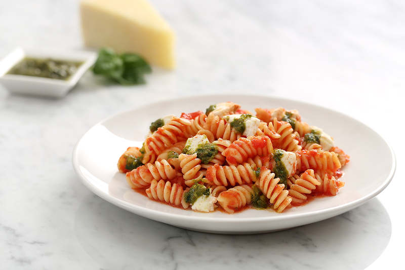 Cheesy Rotini with Tomato Passata
