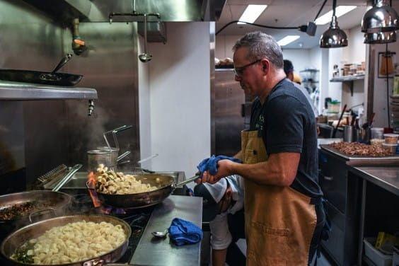 Chef Paul Kahan's Barilla Collezione Orecchiette with Chanterelle Mushrooms & Duck