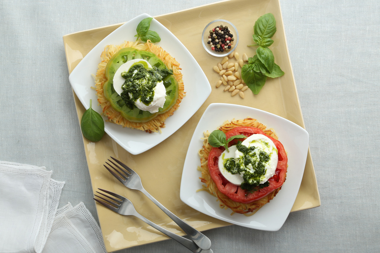 Crunchy Caprese Salad Recipe