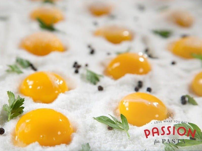 cured egg yolks